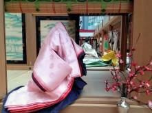 article 33-photo 16-17 01 2019_kimono_layering of seasonal colors in lady's costume