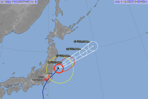 Article 63-photo 6-10 09 2019_Japan Meteorological Agency_Faxai track on 9th sept.