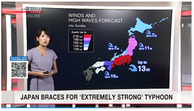 Article 69-photo 7_NHK_Hagibis_wind and high wave forecast_12 10 2019_14h25