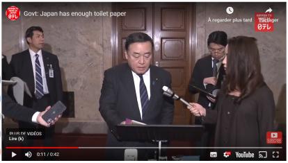 Article 88-photo 2-Govt Japan Has Enough Toilet Paper, Nippon.com, 03 Mars 2020