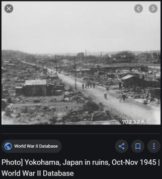 Article 121-photo 13-Yokohama après les bombes_2nde guerre mondiale